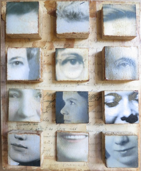 "Faces, 8x10"""