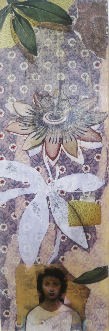 "Passion Flower, 6x18"""